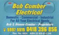 Bob Comber Electrical image